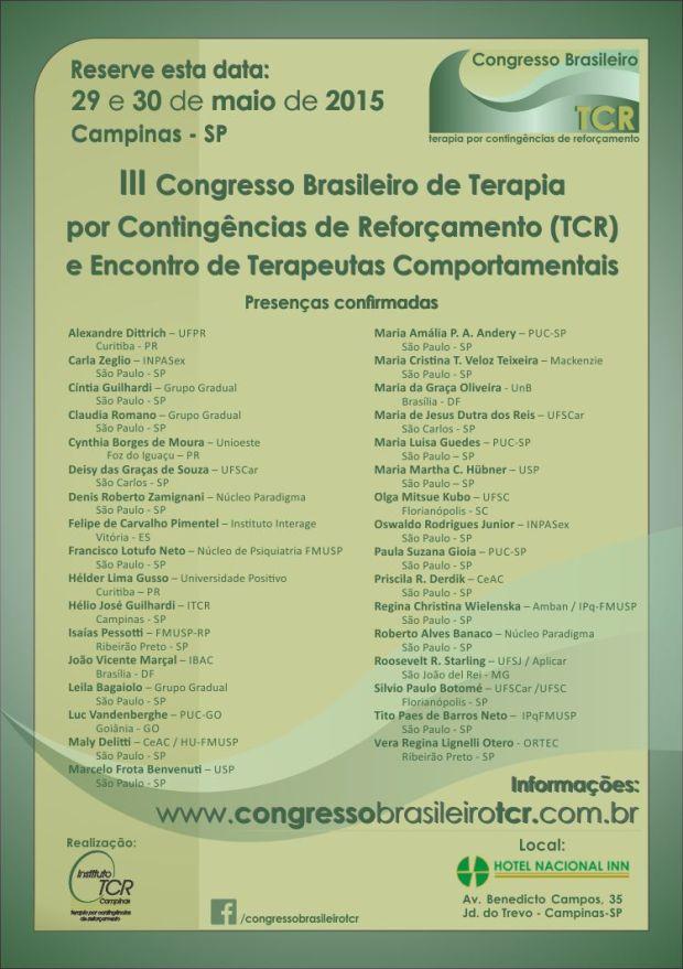 congresso brasileiro tcr
