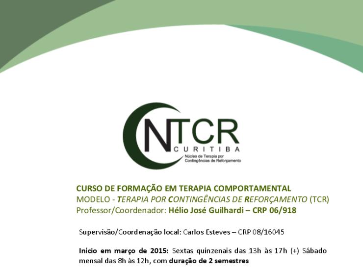 curso de formação ntcr curitiba